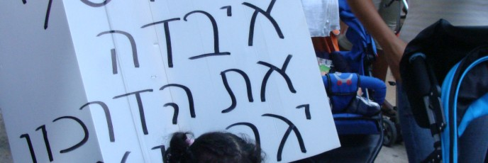 """Protest against arbitrary criteria for naturalization set in 2010. The sign reads, """"My mom lost her passport; they will deport me."""" (Photo: Mya Guarnieri)"""