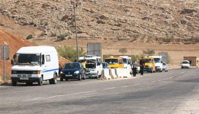 west bank checkpoint